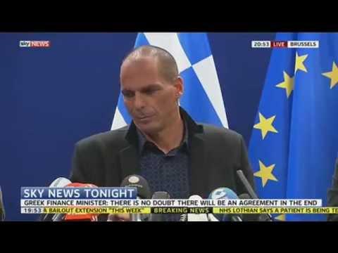 Greek Finance Minister Explains Why Debt Renegotiation Fell Through