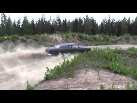Finland Freak Race ~ Mad Driving in a Shoebox Ford