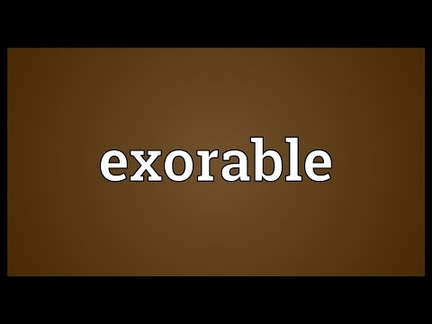 Header of exorable