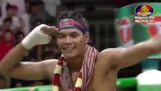 Lao Chetra, Cambodia Vs Khumpichit, Thailand, Khmer Boxing 16 September 2018