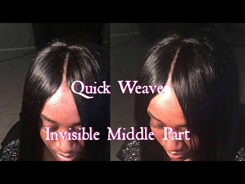 Invisible Part Quick Weave !