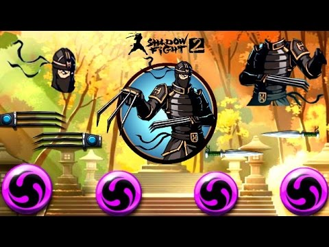 Shadow Fight 2 Mythical Enchantment Lynx Set