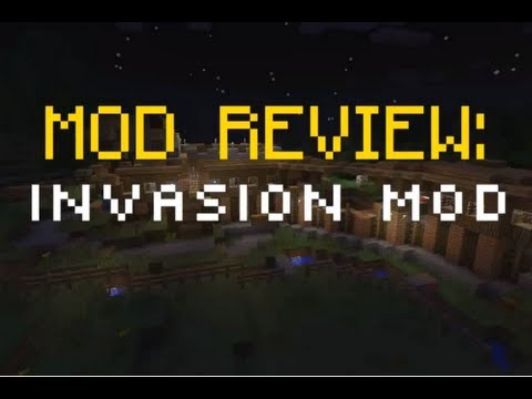 Minecraft Mod Review: Invasion Mod [1.4.2] [DOWNLOAD] [DEUTSCH]
