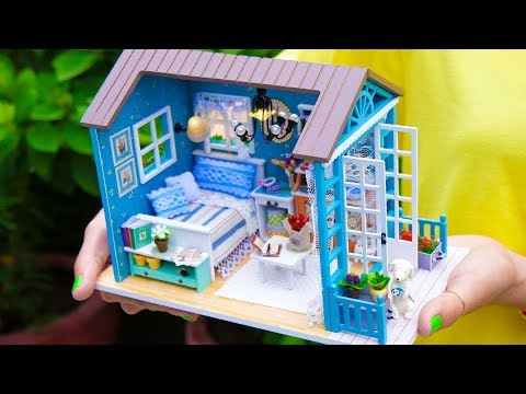 DIY Little Princess Miniature Doll House
