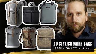 10 BRILLIANT TRENDY WORK/OFFICE BAGS