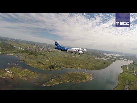 Первый полет нового магистрального самолета МС-21