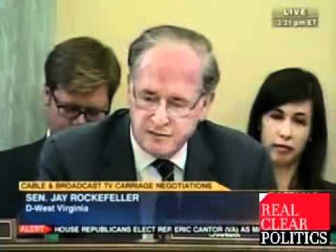Jay Rockefeller Attacks Free Speech AGAIN! Says FCC should take Fox off Air!