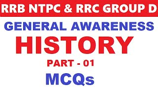 General awareness for ntpc,rrb je, level 01 | Modern History | History
