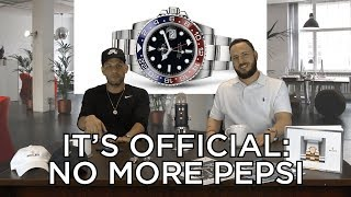 Talkin' Shop 4: Rolex Discontinuing the GMT Master II Pepsi!