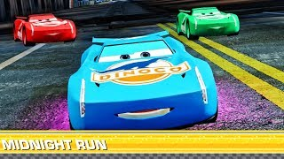 Cars 3 Colors Dinoco Jackson storm - Lightning McQueen - Best Racing Ending - Cars 3: Driven to Win
