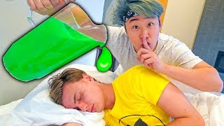 SLIME Prank on Carter Sharer