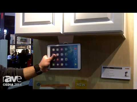 CEDIA 2014: OmniMount Demos their 3-in-1 Adjustable iPad Stand