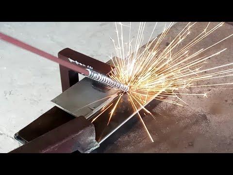 Эксперимент. Привариваем алюминий к железу.