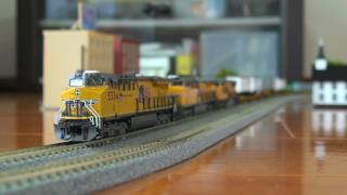 Nscale  Intermodal Train(ES44AC,AC4400CW,SD70M&BLMA Spine cars)