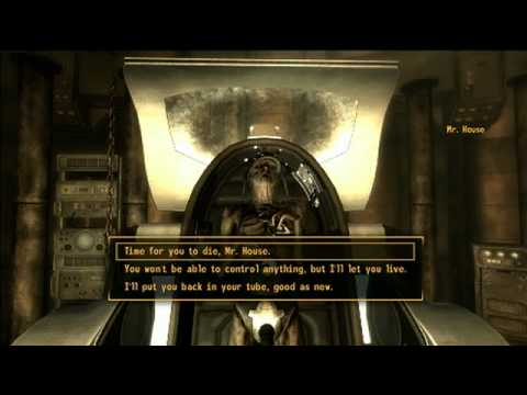 Fallout: New Vegas: Mr. House the Crypt Keeper!