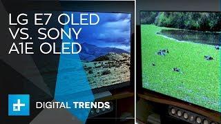 LG E7 OLED vs Sony A1E OLED
