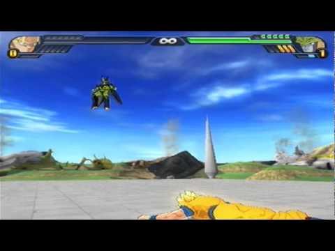 Budokai Tenkaichi 3: Cell Games Begin - Goku & Gohan Vs Cell (changed Music) video
