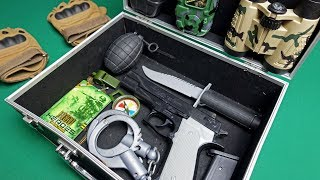 Military Toy Guns Toys! Toys for Kids - Army Toy Weapons and Equipment
