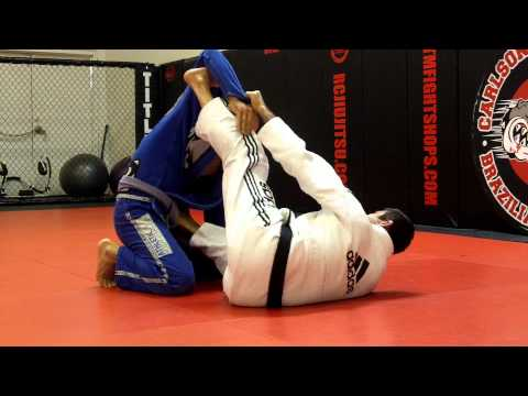 Jiu Jitsu Techniques - Armbar / Triangle From Spider Guard