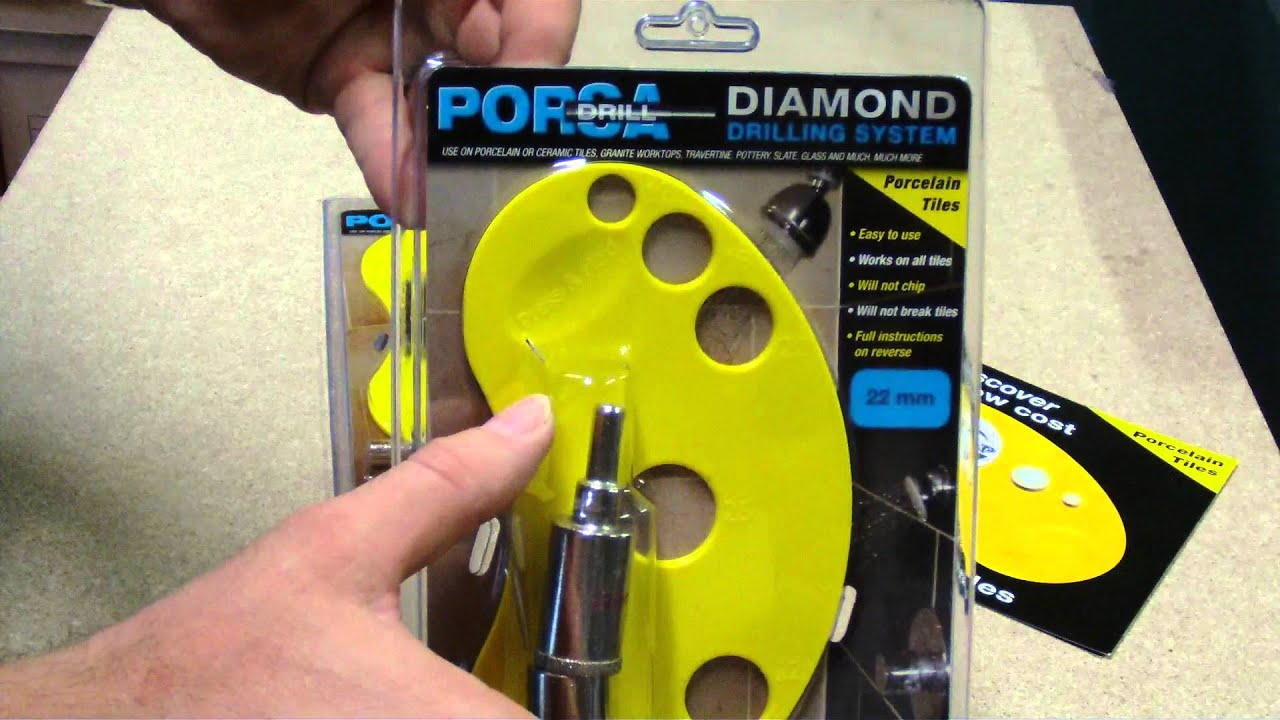 22mm Diamond core drill for drilling holes into tiles ...