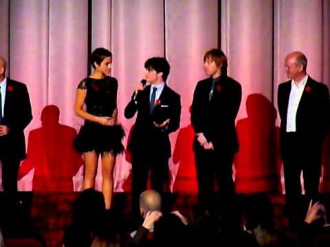 London Premiere Harry Potter And The Deathly Hallows ,Daniel Radcliffe, Emma Watson