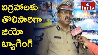 DGP Mahender Reddy Face to Face over Security Arrangements For Ganesh Immersion | hmtv
