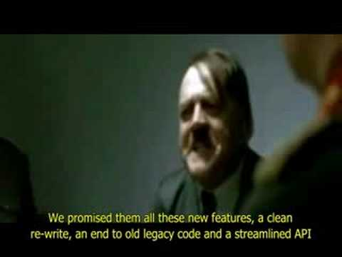 Hitler Not Impressed With OpenGL 3.0