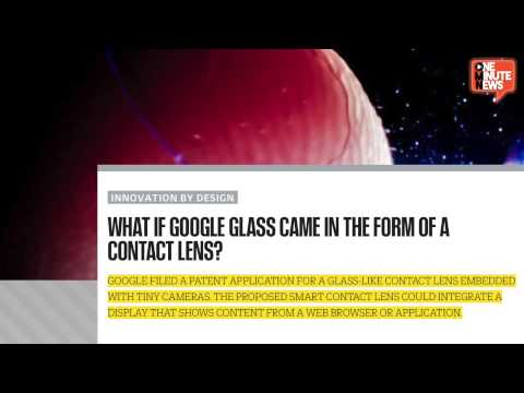 Google Wants To Make Smart Contact Lenses With Built In Camera