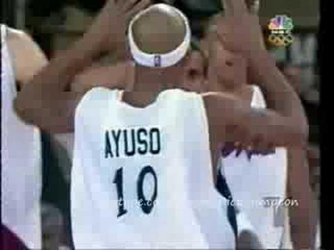 Puerto Rico Vs Usa Dream Team   Atenas 2004