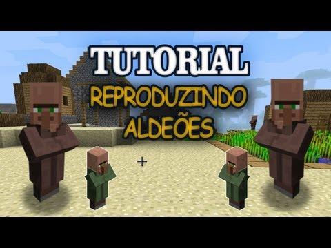 Minecraft Criando uma Vila de Aldeões Vila dos Tutoriais