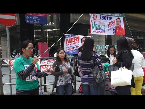 Philippine Election 2016: Hong Kong OFWs Intensifies Election Campaign