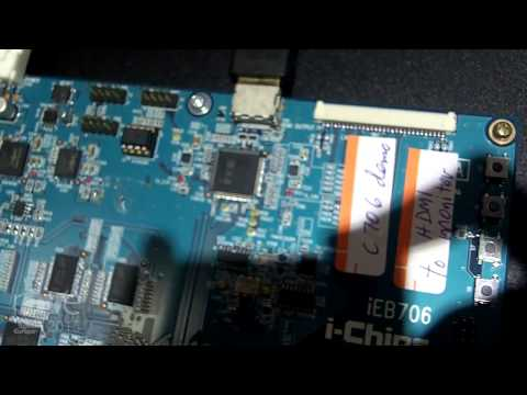 ISE 2015: i-Chips Displays IP00C706 High Performance Scaler Chip