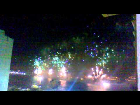 Most beautiful fireworks and new years eve celebration! - part1