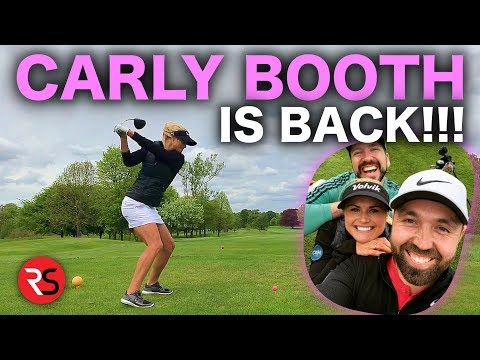 CARLY BOOTH IS BACK! Course Vlog Part 1