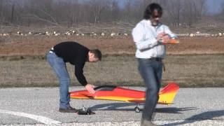 Crash rc jet