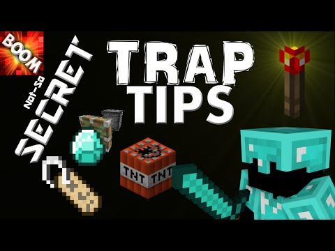 MINECRAFT- 4 CRUCIAL TRAP-MAKING TIPS! THE ILLUSION OF SAFETY TRAP TUTORIAL