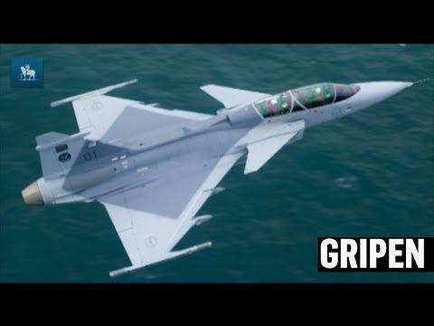 Conheça o Gripen, caça sueco escolhido pelo governo brasileiro