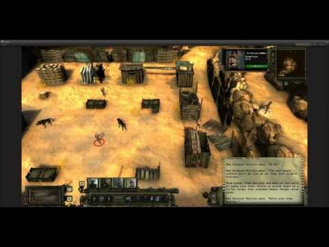Wasteland 2 Prison Level Demo video