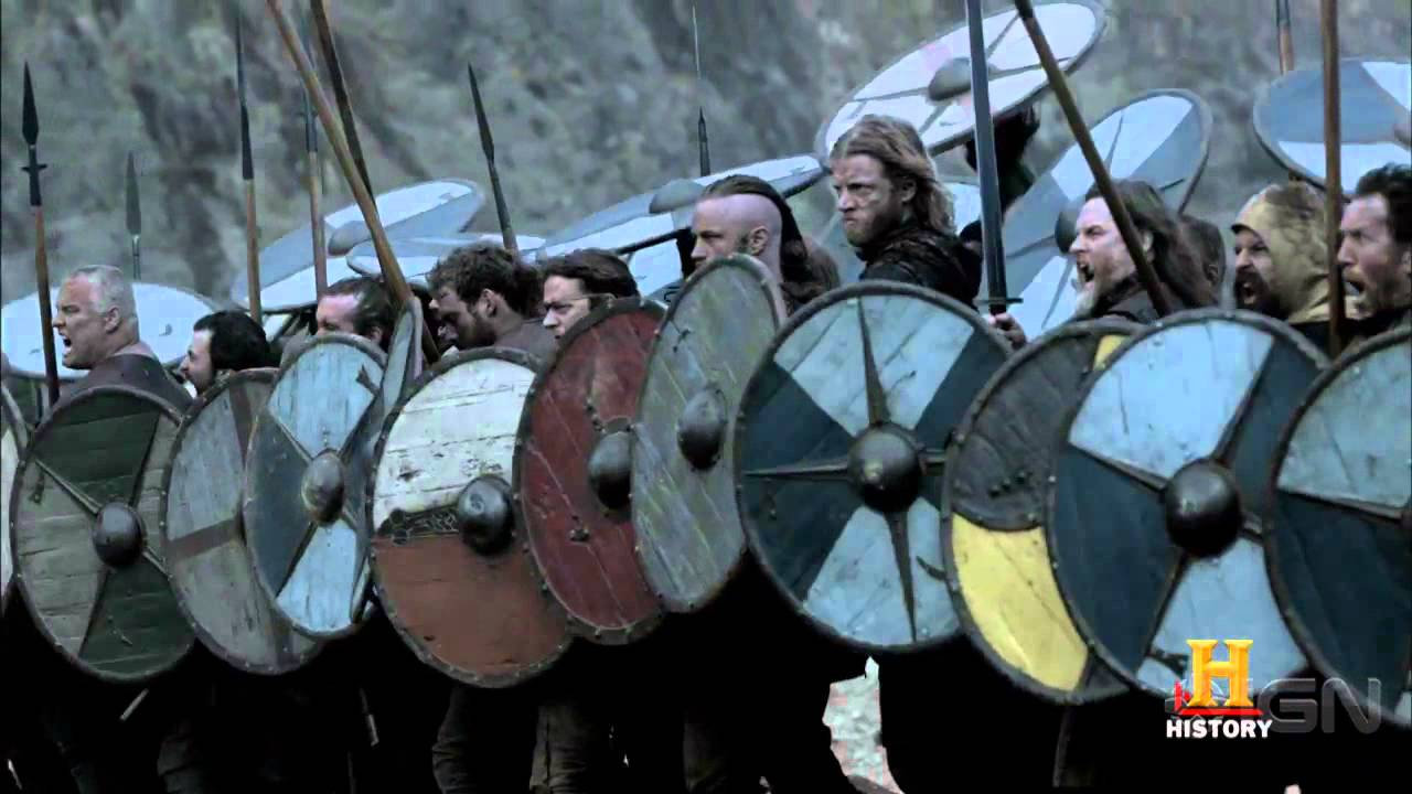 Vikings Season 2 Ragnar And Rollo Battle Youtube