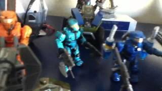 Halo mega bloks Army video