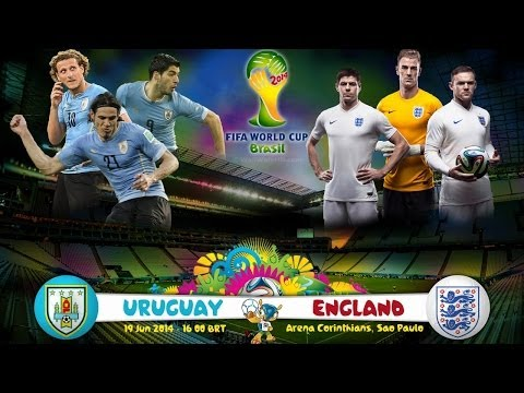 2014 FIFA World Cup Brazil - Уругвай - Англия [Uruguay vs.England]