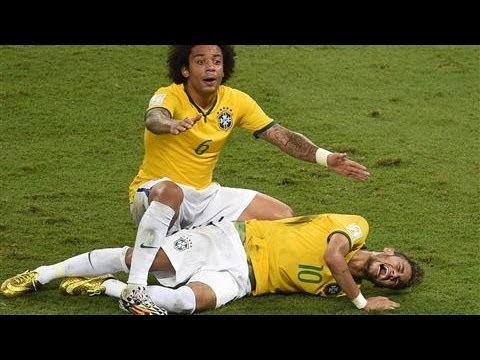 Brazil's Win Dampened by Neymar's Injury