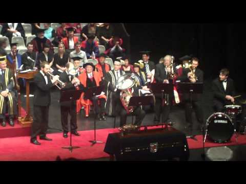 The performance - Graduation Ceremony of Otago University