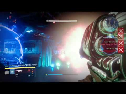 Destiny: Worlds First Wrath of The Machine Completion by Redeem (Boss Fight)