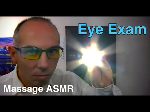 Eye Examination with Dr Dmitri an ASMR Role Play - Flash light