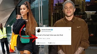 Ariana Grande and Pete Davidson Publicly Throw SHADE at Each Other!
