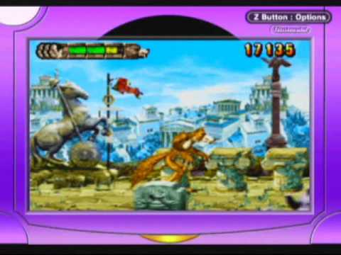 Altered Beast Game Over Altered Beast Guardian of The