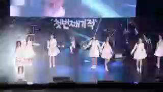 DIA Feat Taeeun(MBK Trainee) @The First Miracle Concert