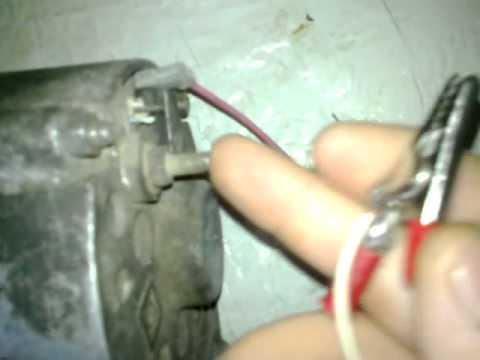 Видео как проверить снятый генератор