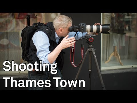 Behind the Scenes - the shooting of Thames town